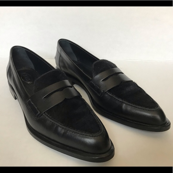 Tod's Shoes - Tod's Gomma Fem Black Loafers